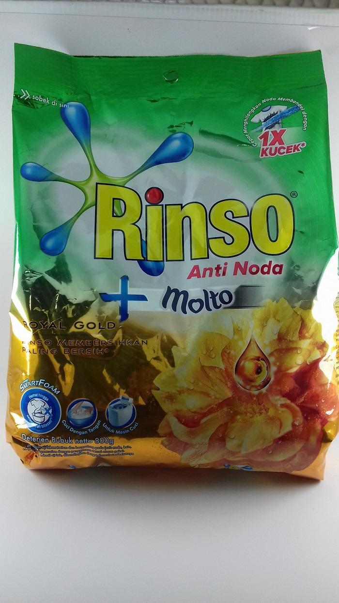 Ultra Detergent Cair 1000 mL. Source · Rinso Molto Gold 800gr .