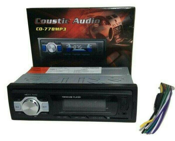 Tape mp3 usb Coustic audio co778 mp3
