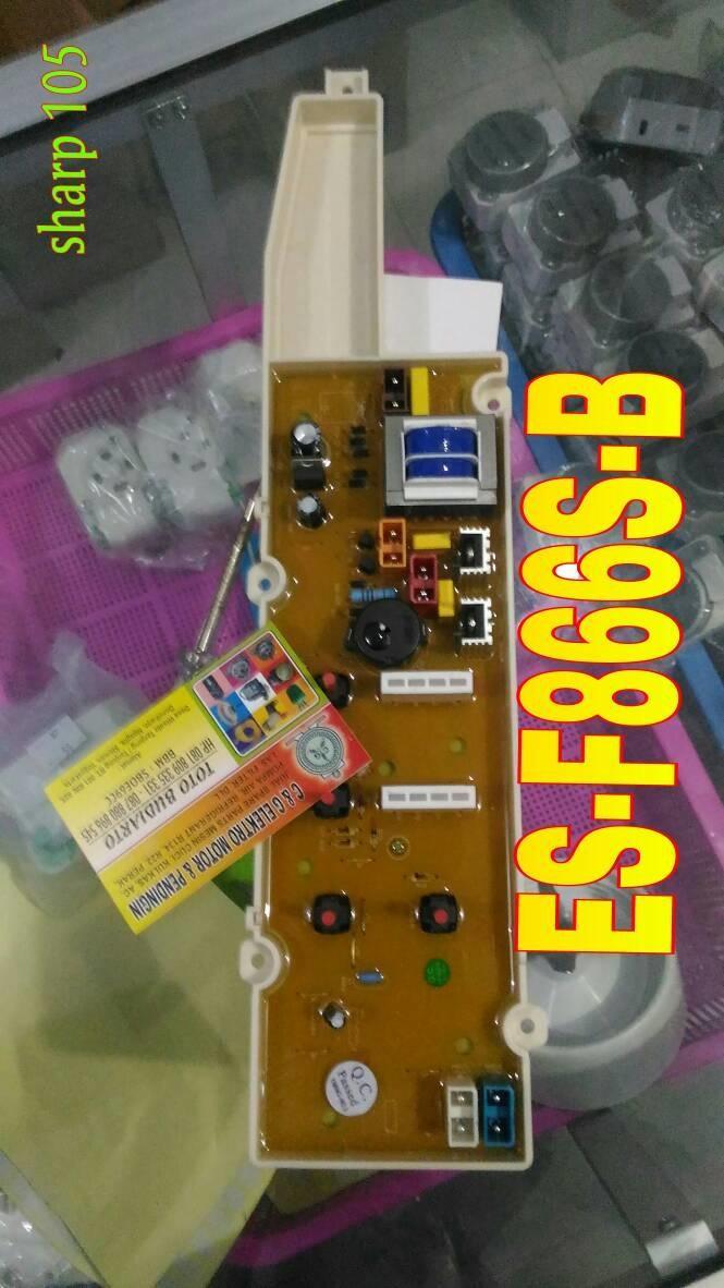 modul / pcb mesin cuci sharp ES-F866S-B / ES-F865-P