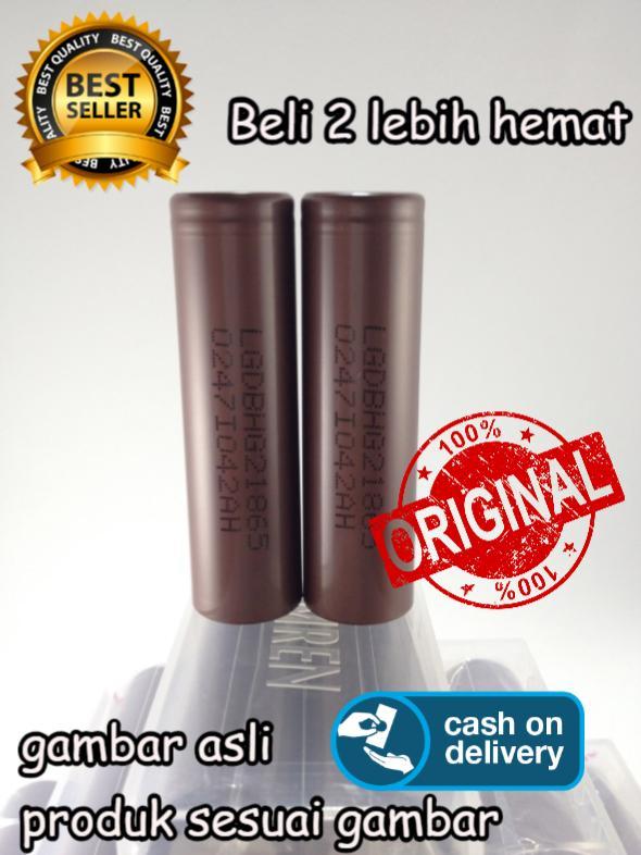 Big Store- Baterai LG Vape Vapor Original Type HG2 3000mAh 20A - 18650