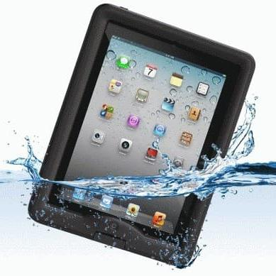 New Tablet Waterproof Cover / Tempat Tablet iPad Anti Air HITAM 21 x 28 cm Good Quality - Pelindung