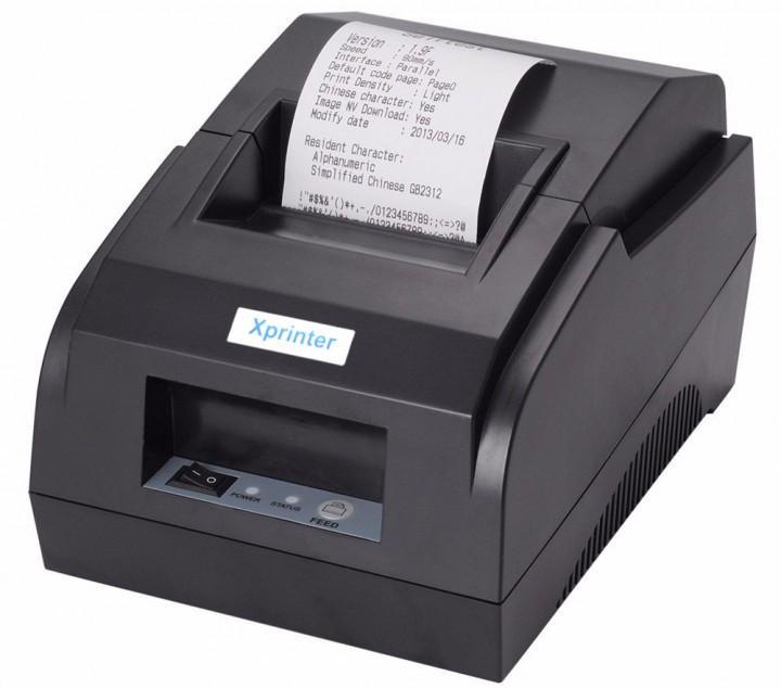 XPRINTER XP58IIL Mini Thermal Printer with Bluetooth and USB Port