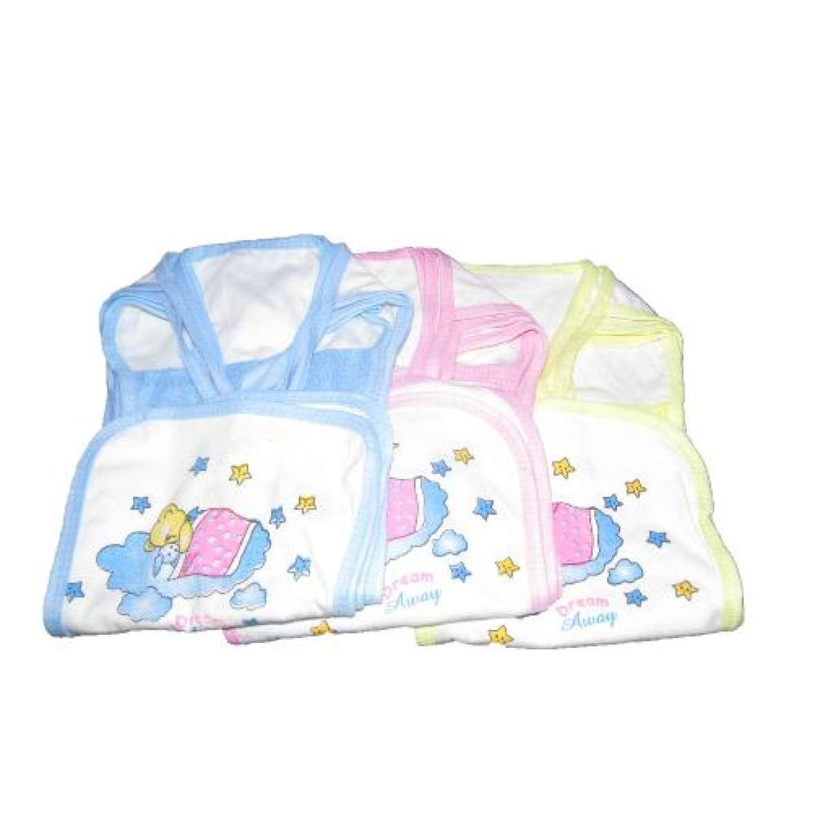 Buy Sell Cheapest Aviva Baju Bayi Best Quality Product Deals Jumper Kancing Depan Popok Tali Pakai Anduk Isi 3 Pcs