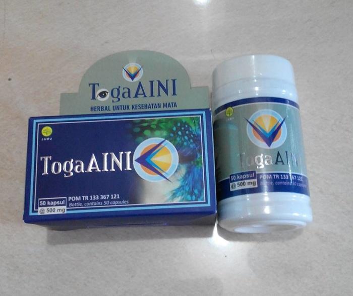 Herbal Toga Aini ( Membantu Memelihara Kesehatan Mata ) Sudah POM TR
