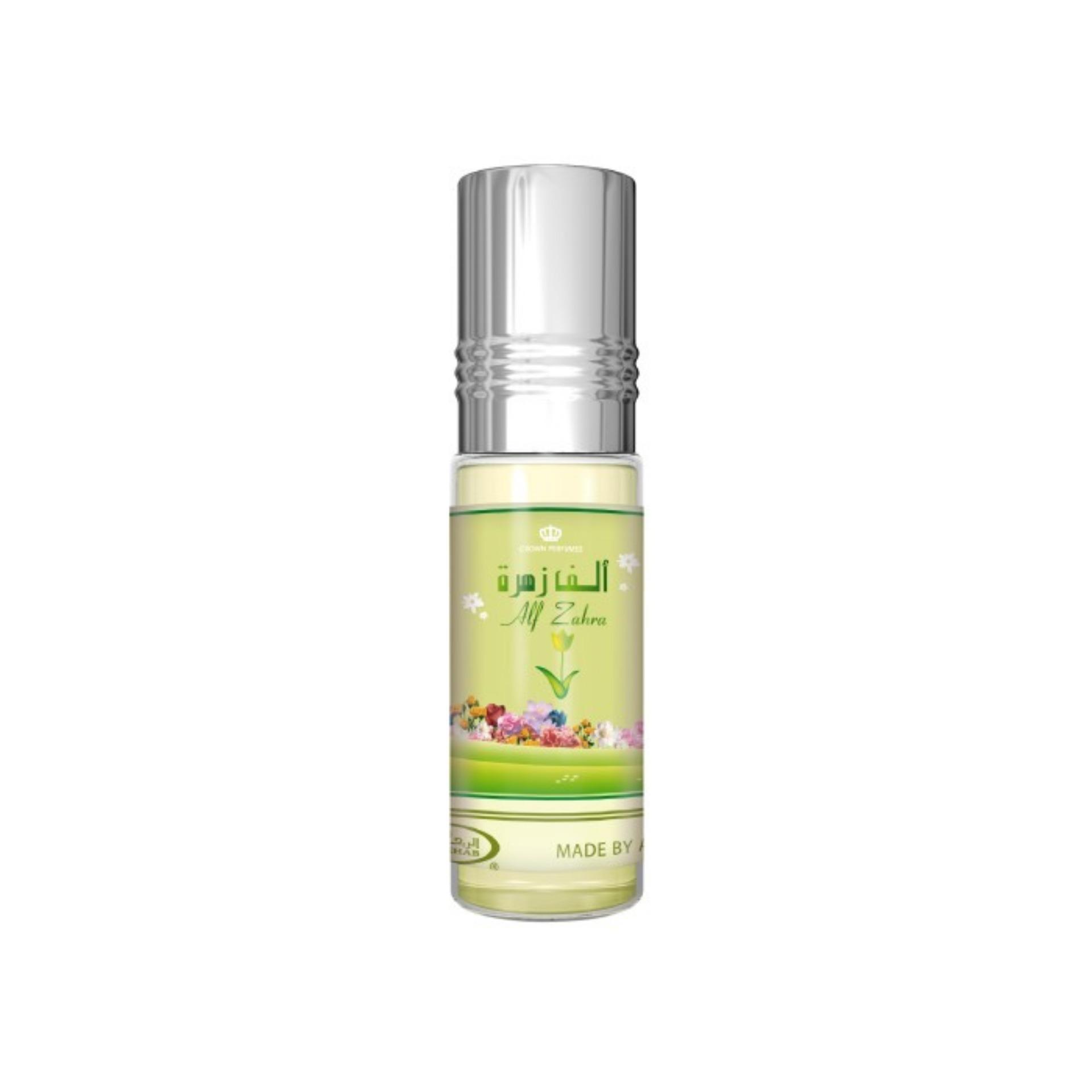 Yukay Herbal Al Rehab Perfume Alf Zahra Minyak Wangi 6 ml Non Alkohol