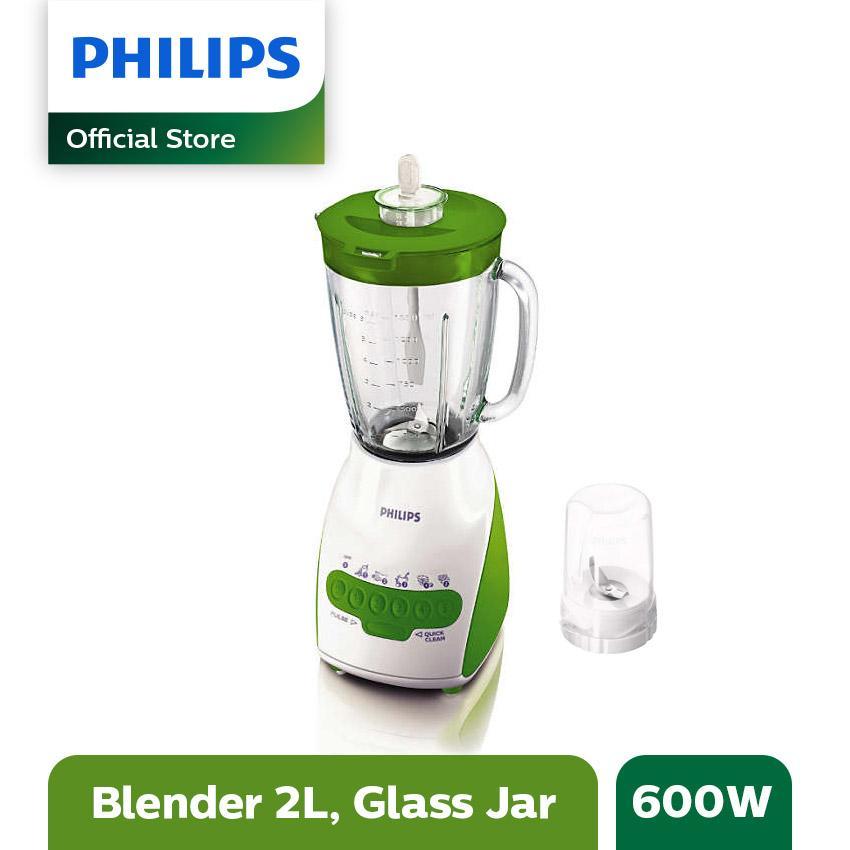 Philips Blender Kaca HR2116/40 -Hijau