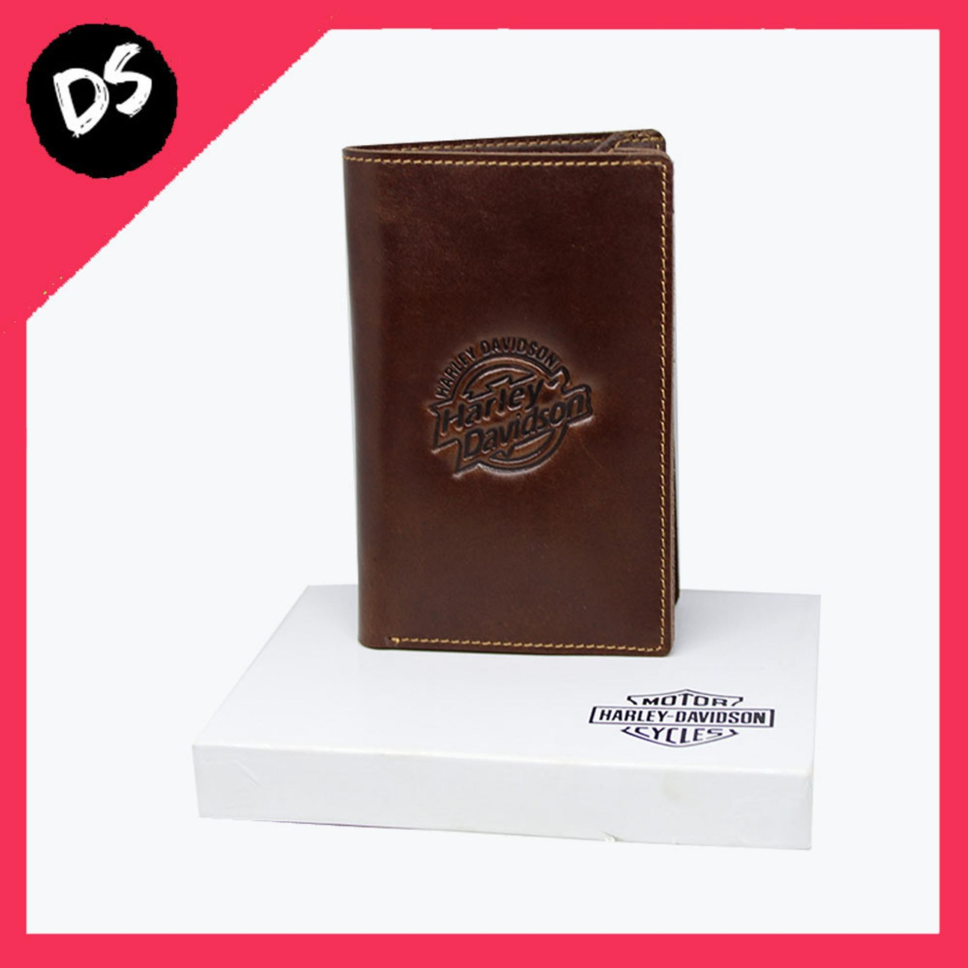Hot Promo!!! Dompet Pria Kulit Asli Hitam Model Harley Davidson - Dream Shop