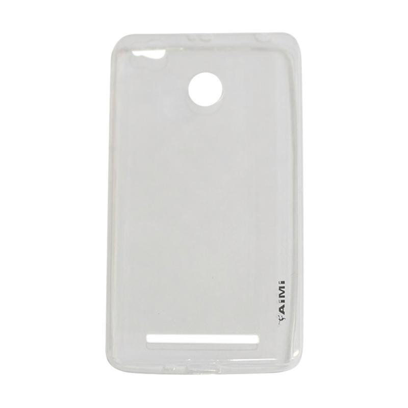 AIMI Ultrathin Case (Anti Jamur) Xiaomi Redmi 3X Jelly case Air Case 0.3mm / Silicone Xiaomi Redmi 3X / Soft Case Xiaomi Redmi 3X / Casing Xiaomi Redmi 3X - Transparan