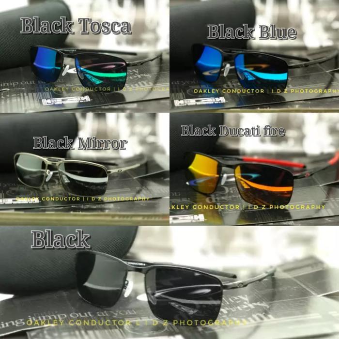 DISKON Kacamata Oakley Conductor 8 Black Kacamata Polarized Fashion Pria TERMURAH
