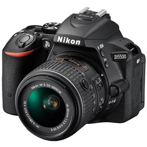 Nikon DSLR D5500 BK (SG) AF-P 18-55MM VR  KIT