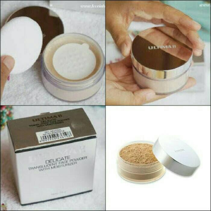 Diskon 10% Ultima Ii Delicate Translucent Face Powder 43 Gr / Bedak Tabur Besar - ready stock