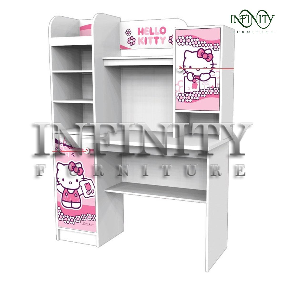 Meja Belajar Anak Karakter Hello Kitty Scarabocchio Sdkt 121017 Scbc