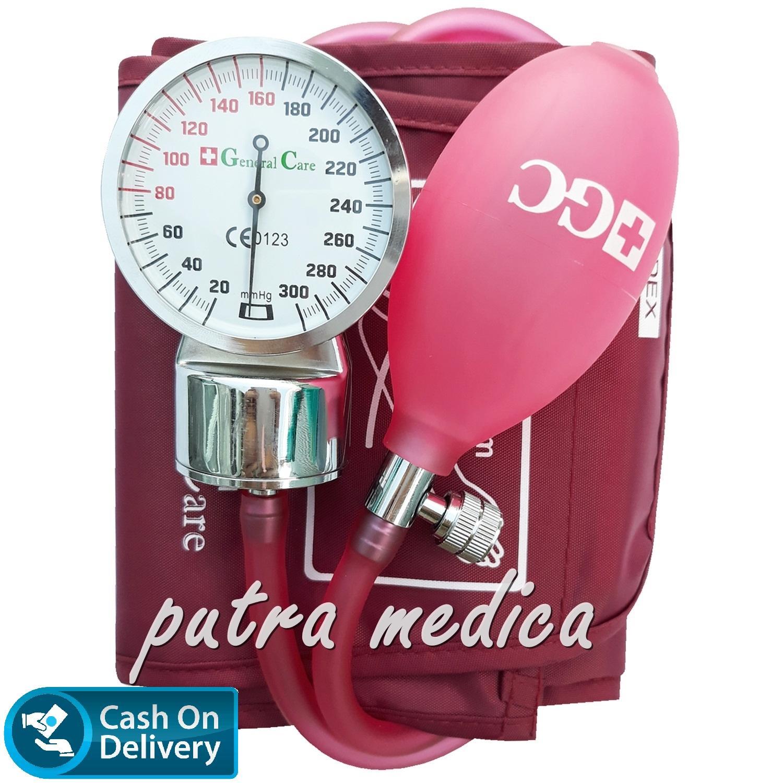 Alat Monitor Tekanan Darah Tensimeter Lazada Kesehatan Pengukur Tensi Digital Blood Pressure Putra Medica General Care Aneroid Maroon Jarum Transparan Lucu Unik Warna