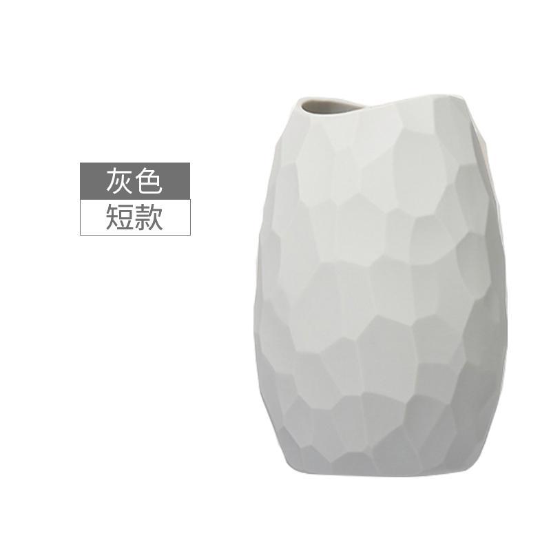 Silikon Vas Bunga Ruang Tamu Meja Makan Permukaan Meja Kreatif Ornamen Vas Bunga Seni Menata Bunga
