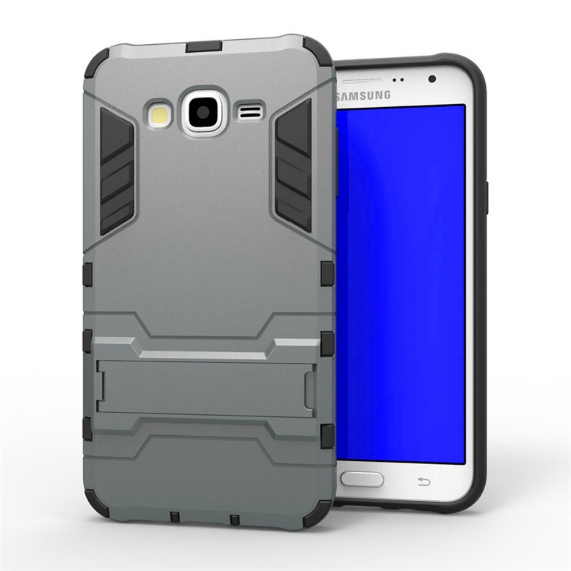 Case Ironman Kickstand For Samsung Galaxy J2 (J200) Grey