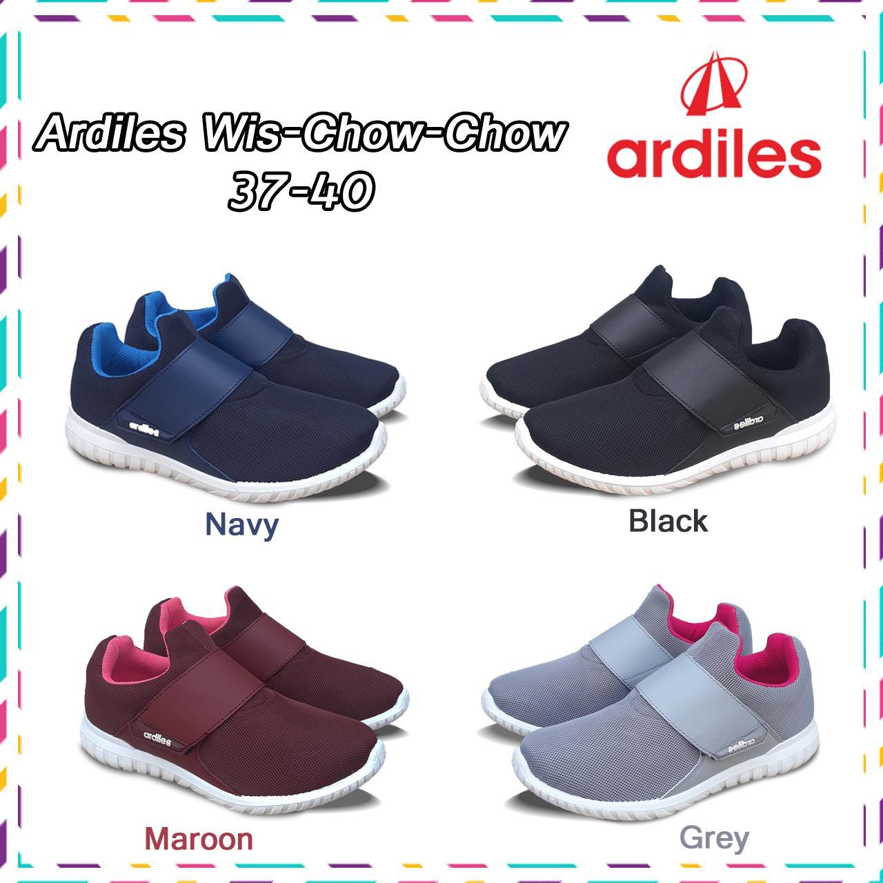 BOSMUDA - Sepatu Slip On Ardiles WIS-CHOW-CHOW 37-40   Sepatu a8cb08b963