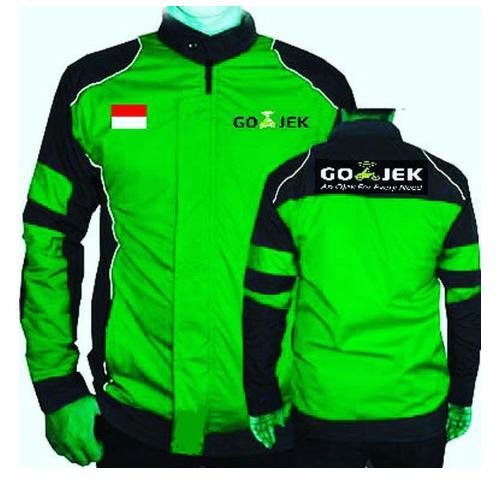 Jaket Gojek Motor Waterproof