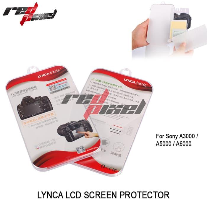 Promo TEMPERED GLASS SCREEN PROTECTOR FOR SONY A3000 / A5000 / A6000 original
