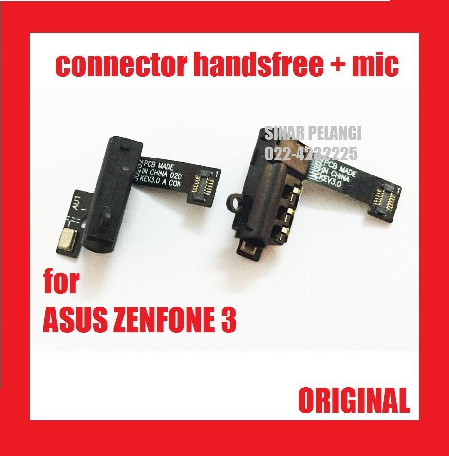 FLEXI FLEX FLEXIBLE FLEKSI ASUS ZENFONE 3 ZE520KL 5.2 INCH CON KONEKTOR CONNECTOR HF HANDSFREE HANDS