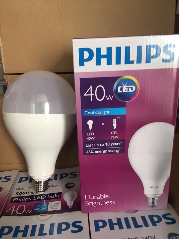 Harga Spesial!! Philips Led 40W  Philips Led 40 Watt  Led 40 W  Philips Led Putih - ready stock
