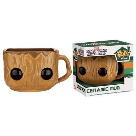 Obral Murah Mainan Figure Funko POP! Home 12 oz. Ceramic Mug Guardians of the Galaxy - Groot Harga Grosir
