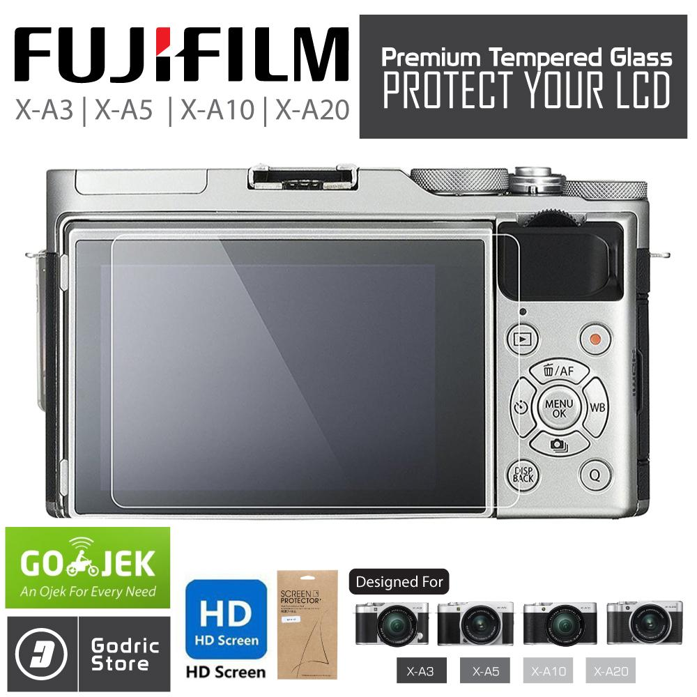 Fujifilm X-A3 / X-A5 / X-A10 / X-A20 / Xa3 / Xa5 / Xa10 / Xa20 Lcd Tempered Glass Screen Protector Anti Gores By Godric Store.