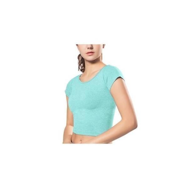 PANACHE - Gym Yoga Shirt Women Short Sleeve T-Shirt