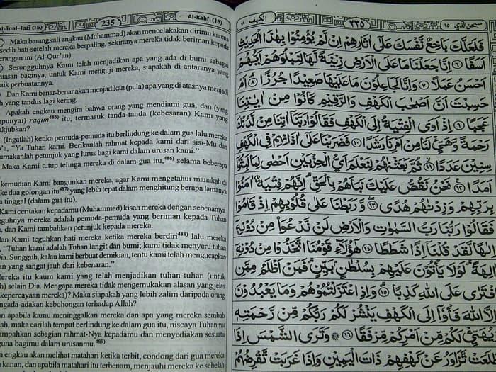 PROMO Alquran Terjemah An-Nur uk besar, Al-Quran terjemah khat kiri kanan