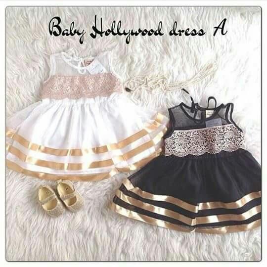 baju dress gaun pesta anak bayi perempuan