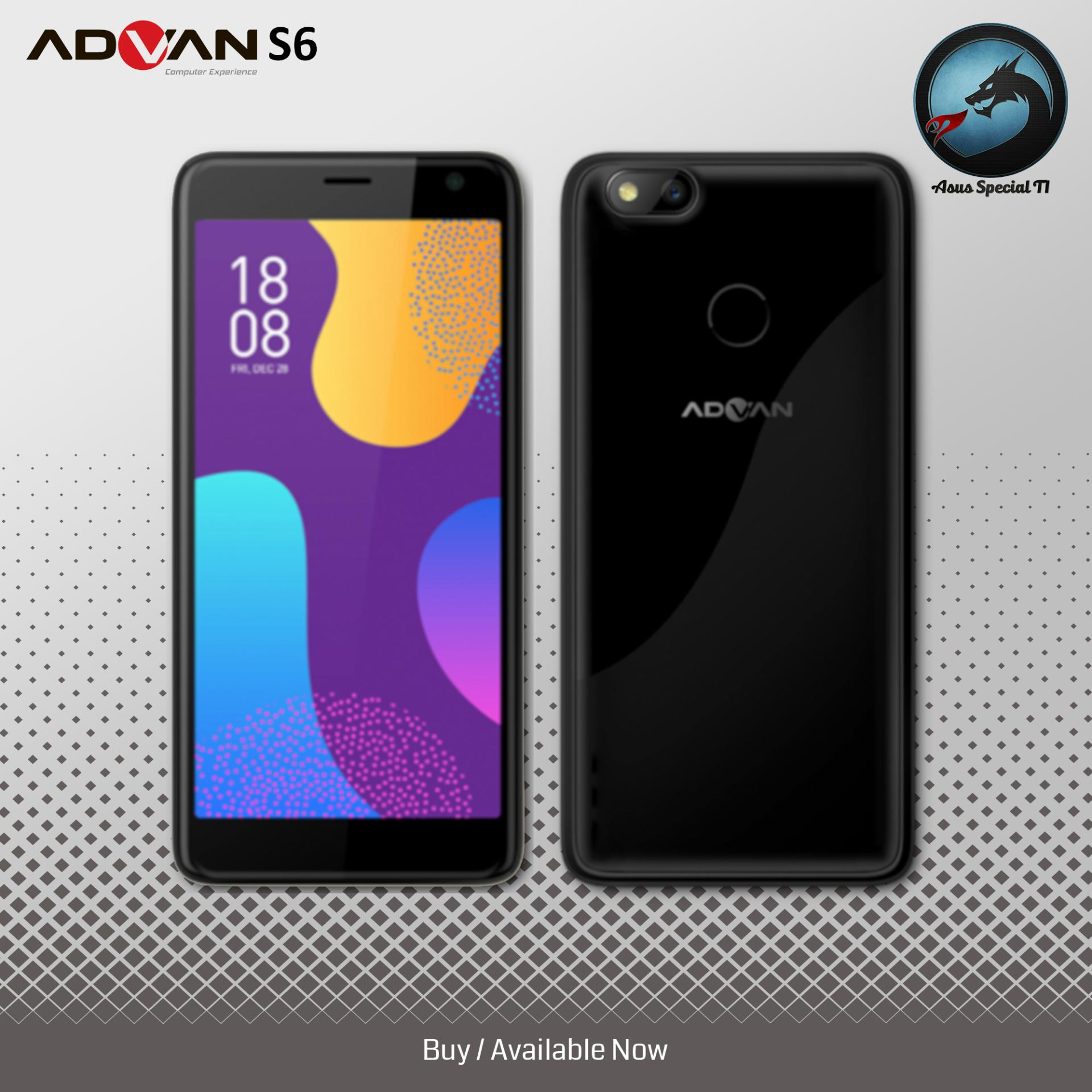 ADVAN S6 4G LTE Fingerprint Android Nougat 7.0 Quadcore 1.3Ghz