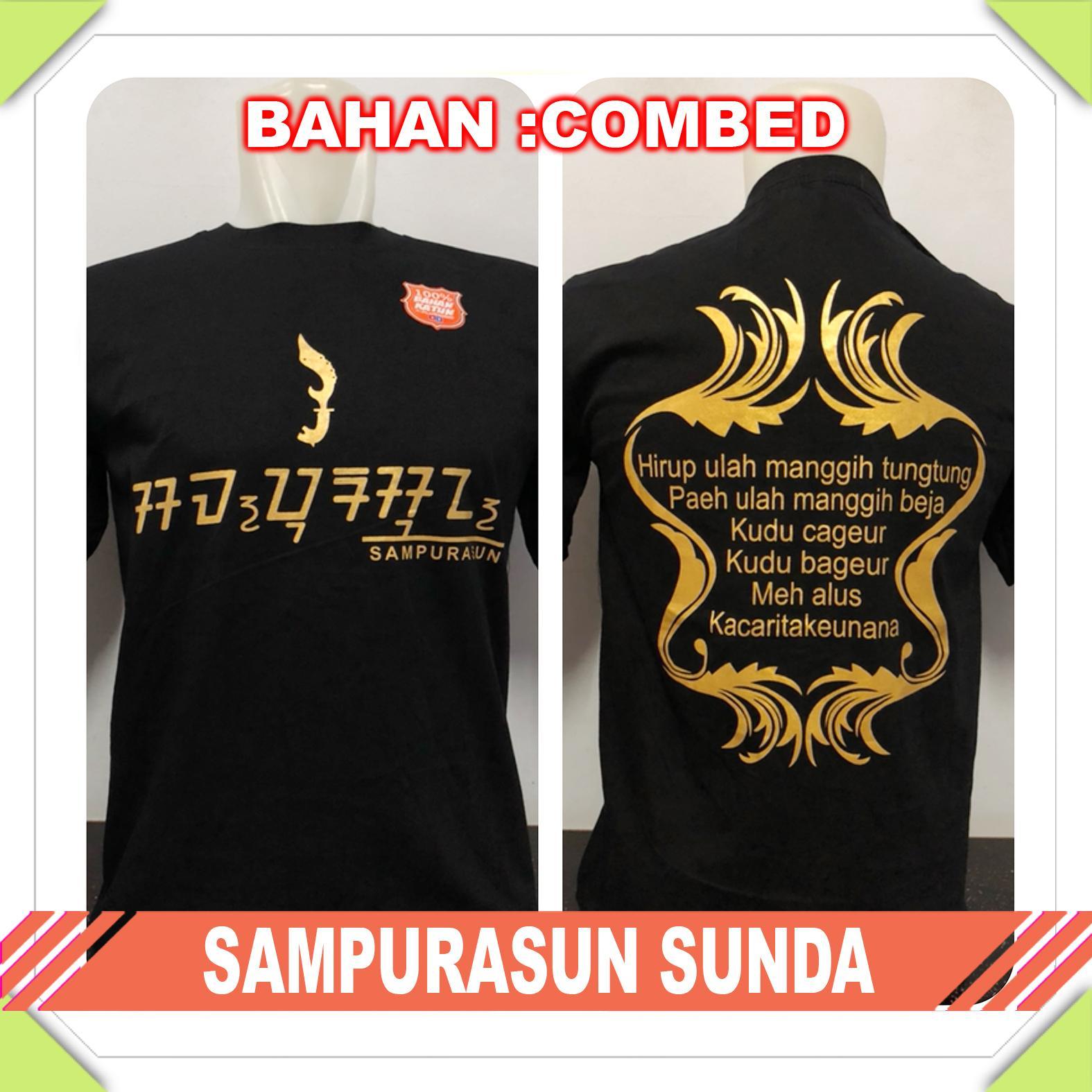 Supplier Natgeo - [KAOS DISTRO] Baju Tshirt Trendy sunda SAMPURASUN SUNDA Dewasa