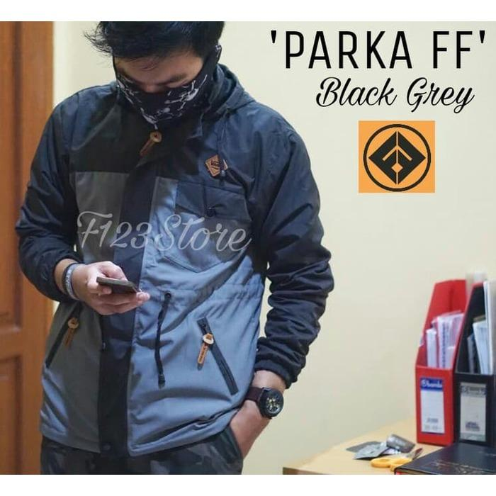 CITY STORE - NEW MODEL JAKET PARKA PARASUT PRIA