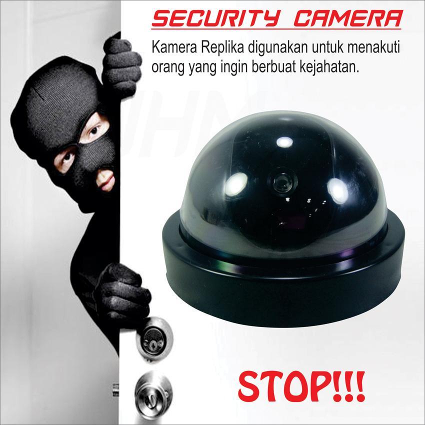 Kamera CCTV Replika / Palsu / Fake / Tiruan / Dummy / Simulasi INDOOR(WHM-SD000001)
