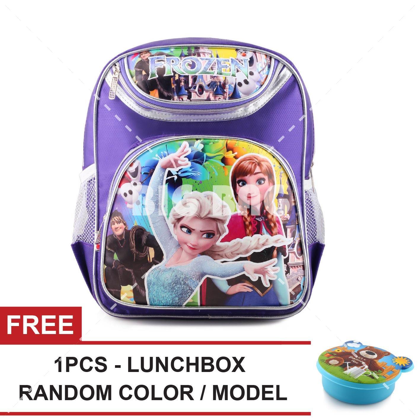 Buy Sell Cheapest Tas Frozen Sekolah Best Quality Product Deals Souvenir Ultah Ransel Anak Snow Queen School Bag Free