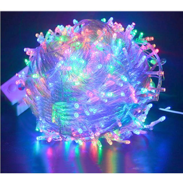 Lampu Hias Tumblr Pembawa Hoki LED 10 Meter Lampu Natal Colorful Warna Warni Lampu Dekorasi + Free Kabel Colokan Sambungan