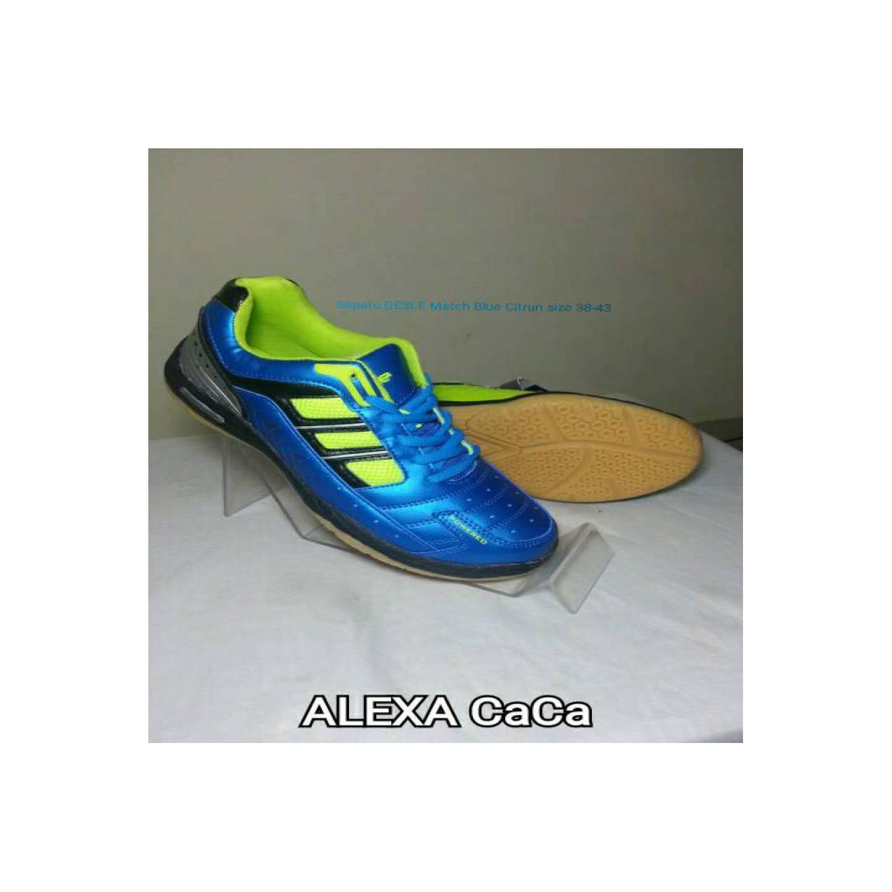 Sepatu DESLE Match blue Citrun size 38-43