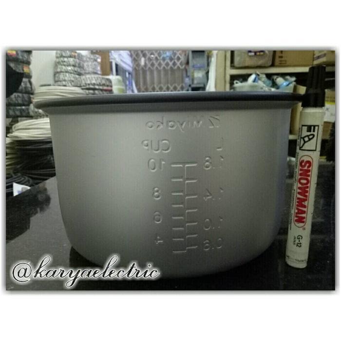 HOT SPESIAL!!! Panci Teflon 1.8L merk Miyako ORIGINAL 100% ( pendek ) - 7N41D1