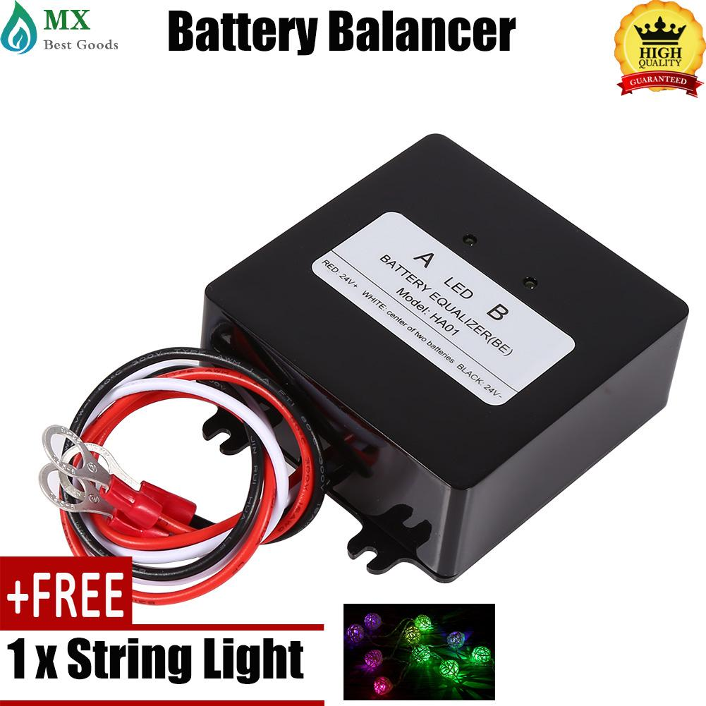 [buy 1 Get 1 Free Gift] 1pcs Solar System Battery Balancer Equalizer For Lead-Acid Batteris Ha01 Charger New By Minxin.