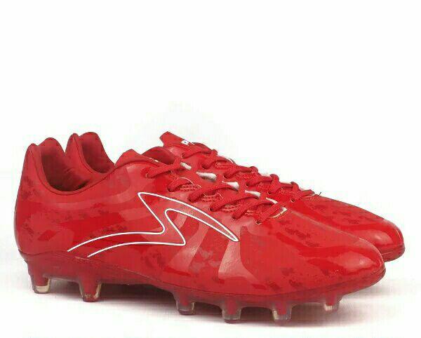 Sepatu Bola Specs Barricada Ultima FG Emperor Red Original