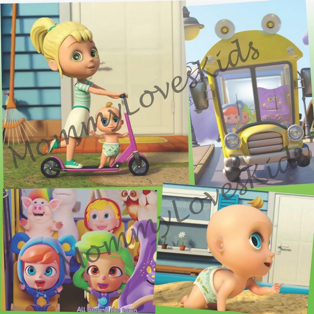 Dvd Video Lagu Anak Looloo Kids (70 Lagu) By Mommyloveskids.