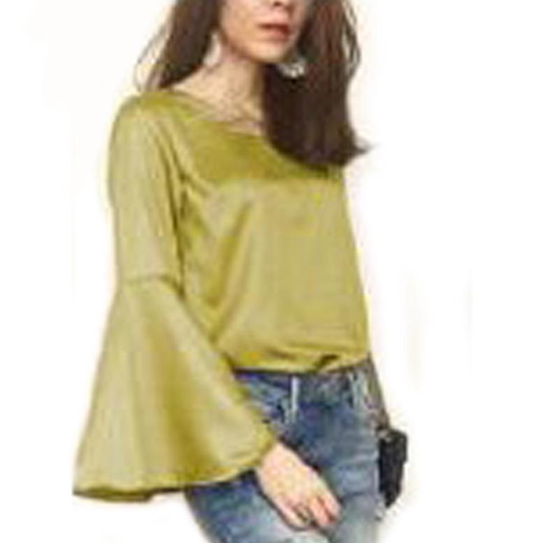 Ayu Fashion  Blouse Rosinta - Emas  3 - Best Seller