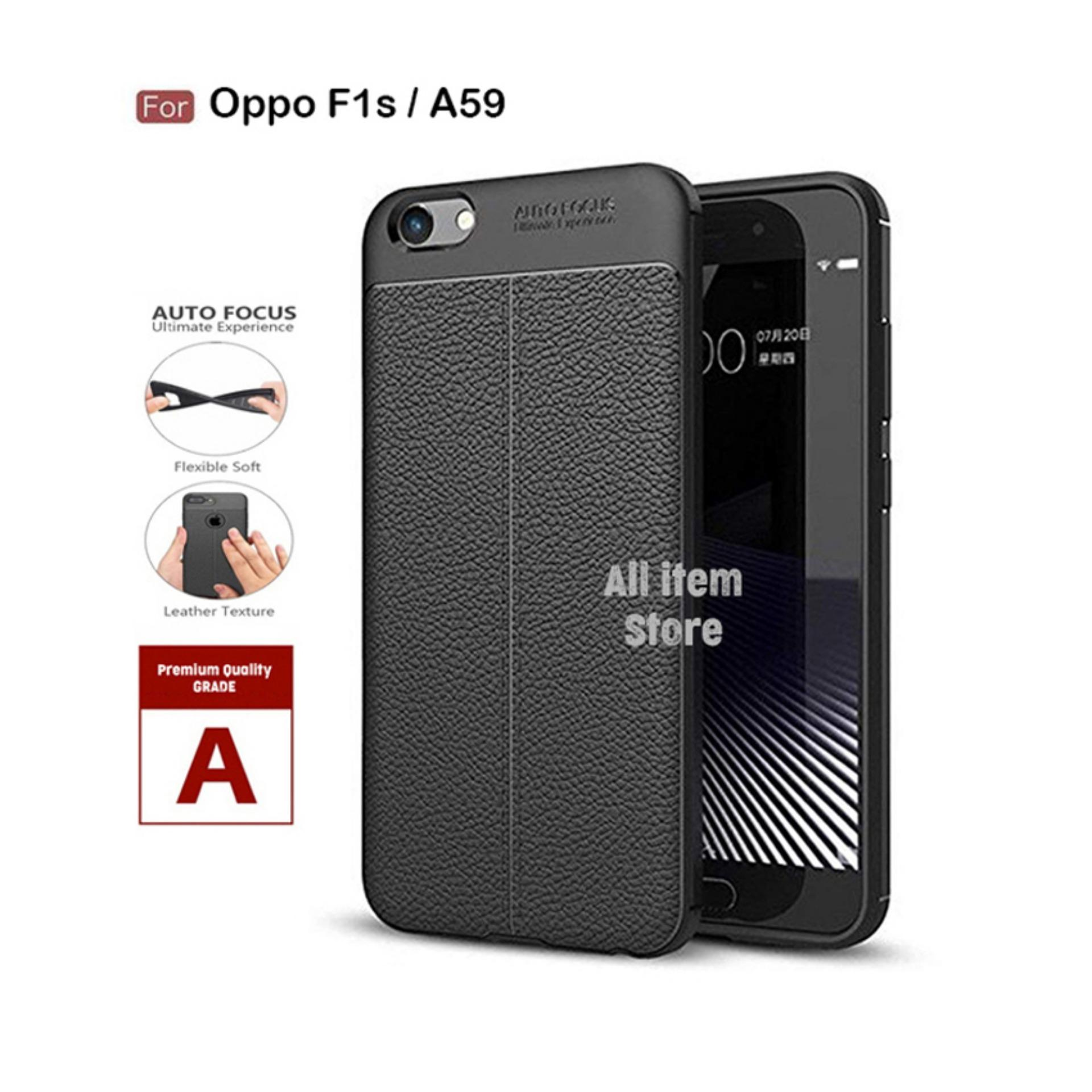 Case Auto Focus For Oppo F1s / A59 Black Matte Autofocus - Hitam