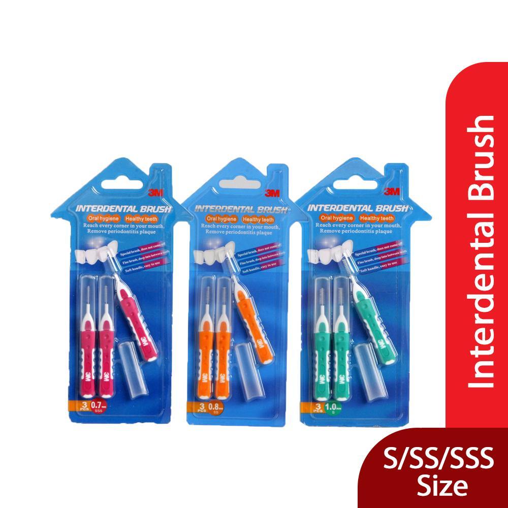 Buy Sell Cheapest Sikat Behel Interdental Best Quality Product Gigi Sela Kawat Brush Atau 3m Warna Pink Hijau Merah Ukuran 07 08 10