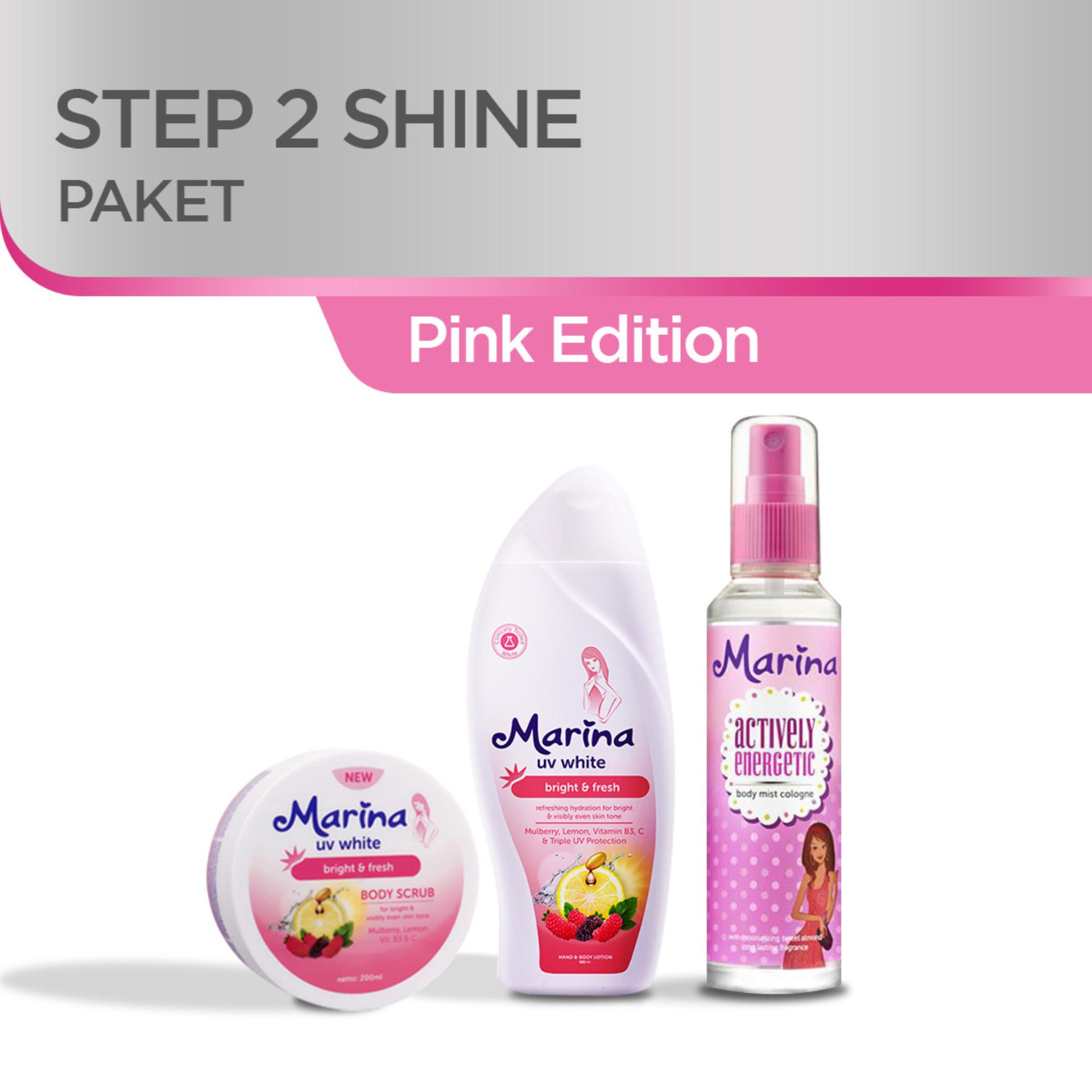 Marina Paket Steps2Shine Pink Edition