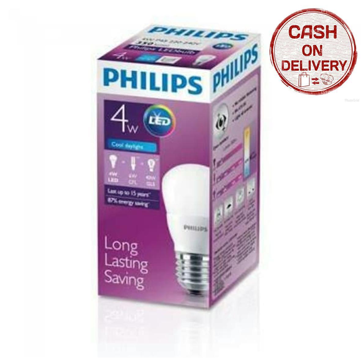 Kado Unik-- Lampu Led Philips 4 Watt / Lampu / Led Philips / Philips Lighting /  Lampu Led Berkualitas / Lampu Philips Murah