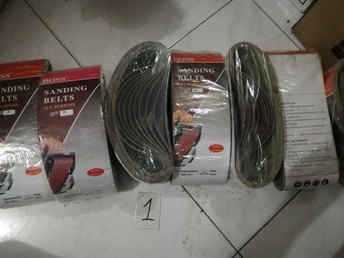 Amplas Roll Amplas Gulung Sanding Belts Grade 80 Jual Per 1 Gulung