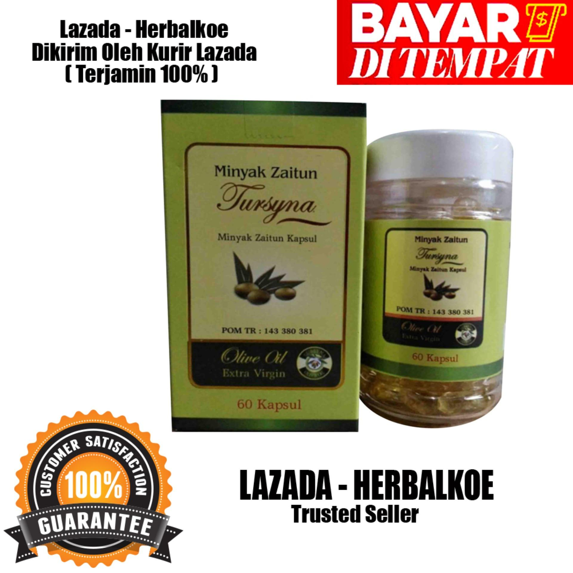 Buy Sell Cheapest Herbalkoe Kapsul Gemuk Best Quality Product Akar Zaitun Minyak Tursyna Extra Virgin Olive Oil 60
