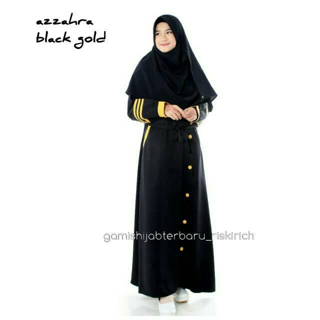 Gamis azzahra pink mint