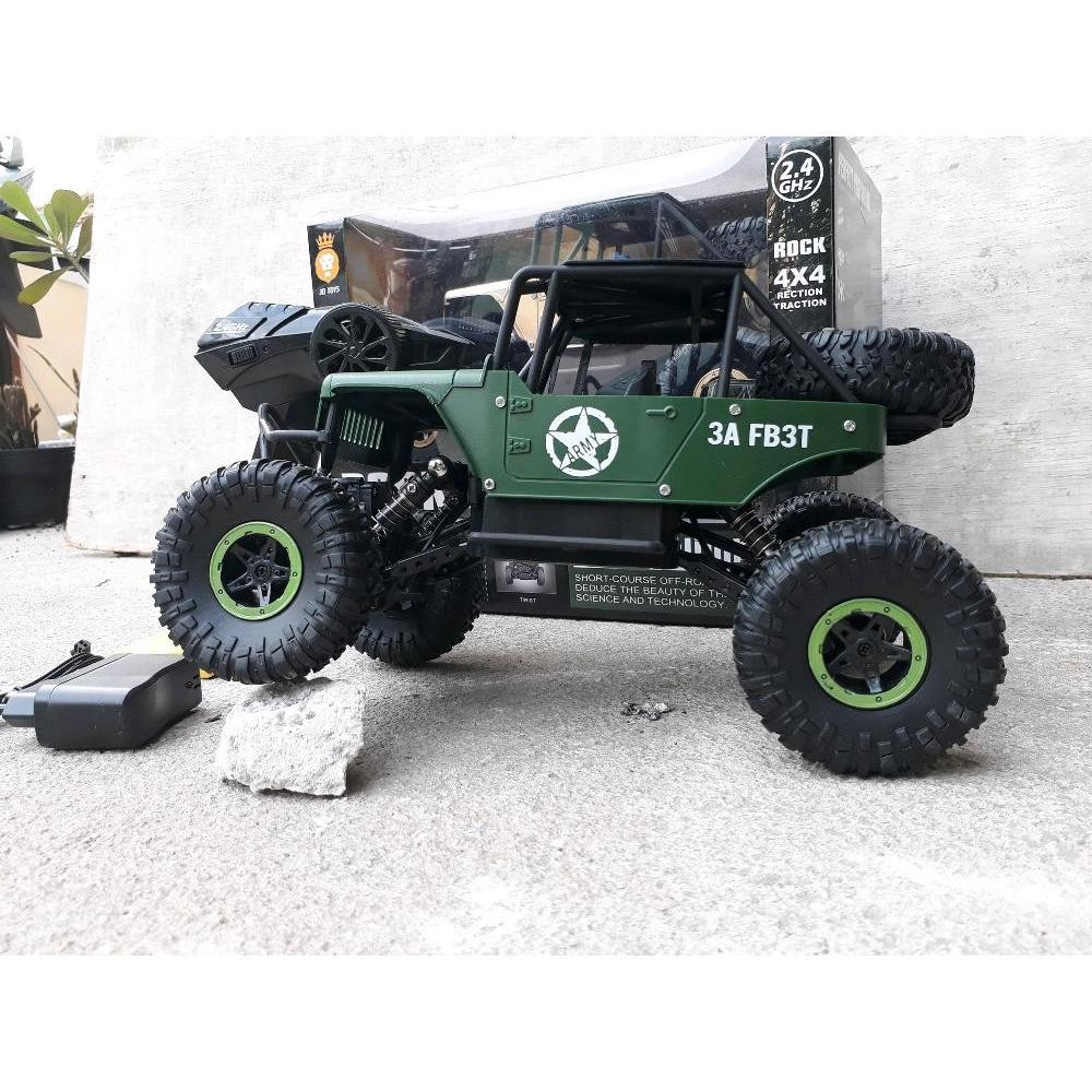 PROMO.......RC CAR JEEP - MOBIL REMOTE CONTROL - MAINAN ANAK RADIO CONTROLE - REMOT KONTROL OFF ROAD