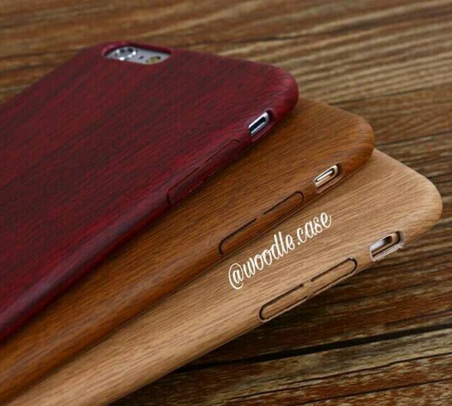 PROMO Casing Iphone 6 Plus / 6S Plus - Motif Kayu TERLARIS
